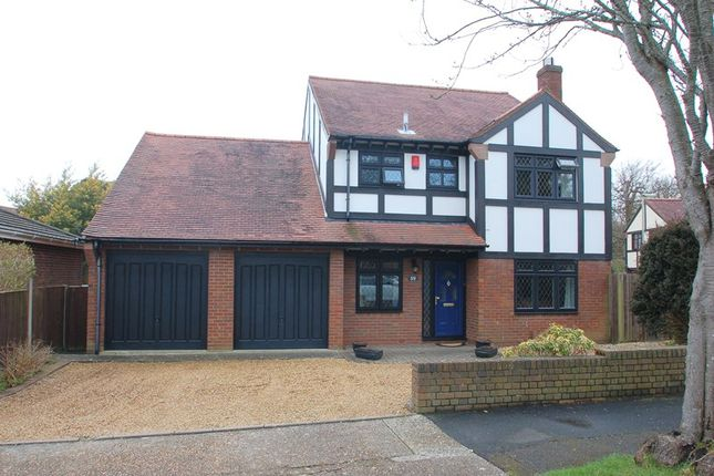 Thumbnail Detached house for sale in Kennedy Crescent, Alverstoke, Gosport
