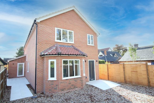 Thumbnail Detached house for sale in Ixworth Road, Norton, Bury St Edmunds, Suffolk