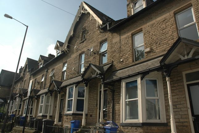 Thumbnail Town house to rent in 110 Whitham Road, Broomhill, Sheffield