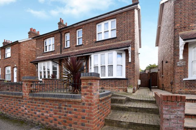 Thumbnail Semi-detached house for sale in Letchmore Road, Stevenage