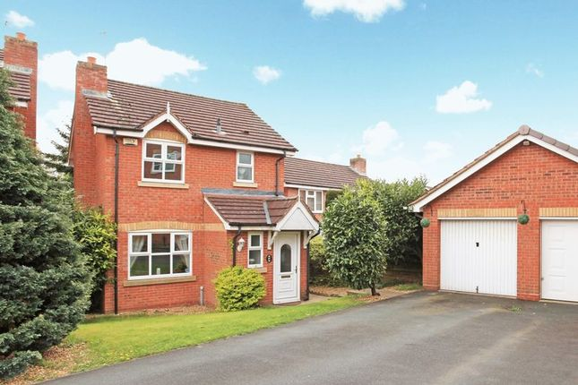 Thumbnail Detached house for sale in 17 Adamson Drive, Horsehay, Telford