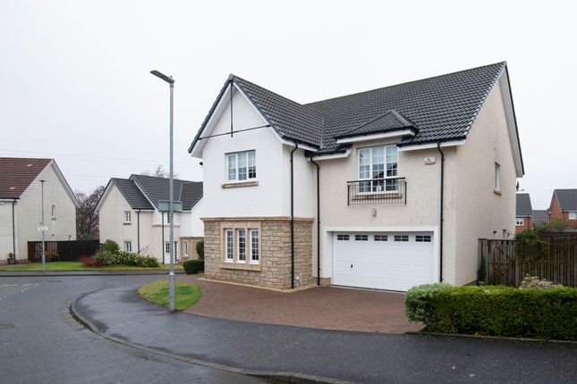 Thumbnail Detached house for sale in Harris Grove, Lindsayfield, East Kilbride