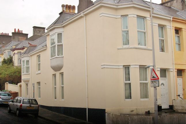 Thumbnail Town house to rent in Beaumont Road, St Judes, Plymouth