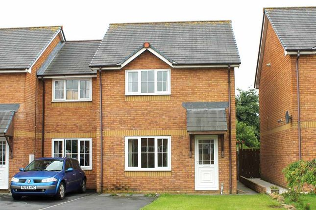 Thumbnail Semi-detached house for sale in Clos Ceitho, Aberystwyth
