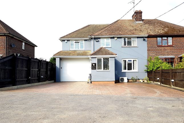 Thumbnail Semi-detached house for sale in Hall Lane, Sandon, Chelmsford