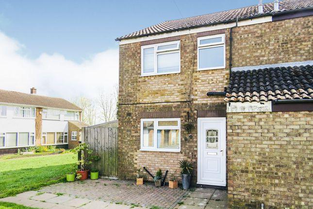 Thumbnail End terrace house for sale in Church Road, Sundon, Luton