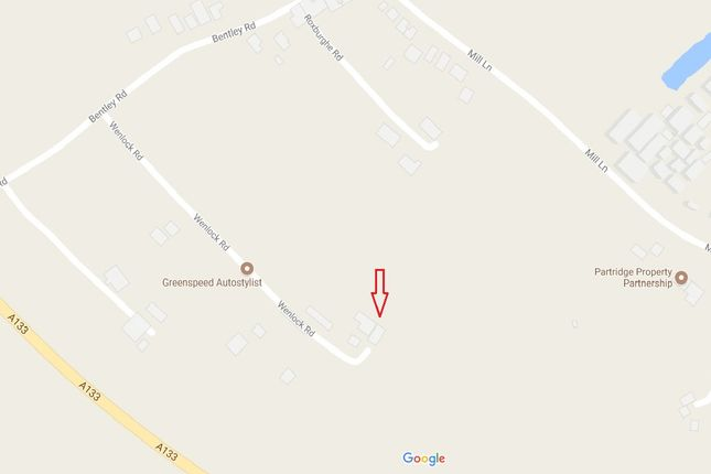 Thumbnail Land for sale in Wenlock Road, Weeley, Clacton-On-Sea
