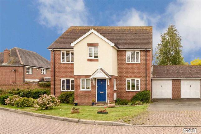 Thumbnail Detached house for sale in Thornton Close, Willesborough, Ashford