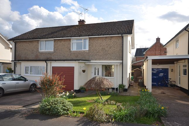 3 bed semi-detached house for sale in Woodlands, Newton St Cyres