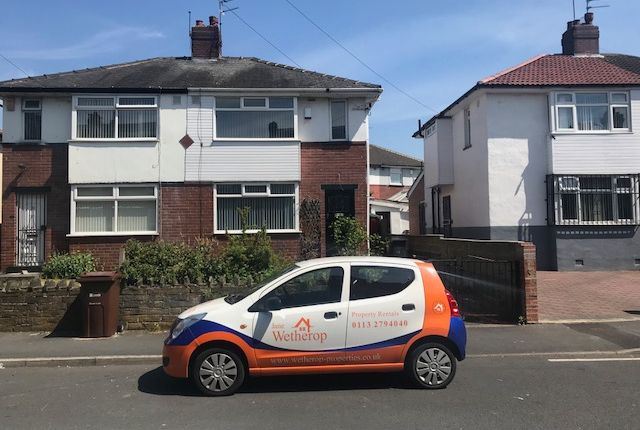 Thumbnail Semi-detached house to rent in Brooklyn Place, Armley, Leeds