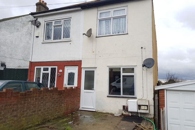 Thumbnail Flat to rent in Palmerston Road, Chatham