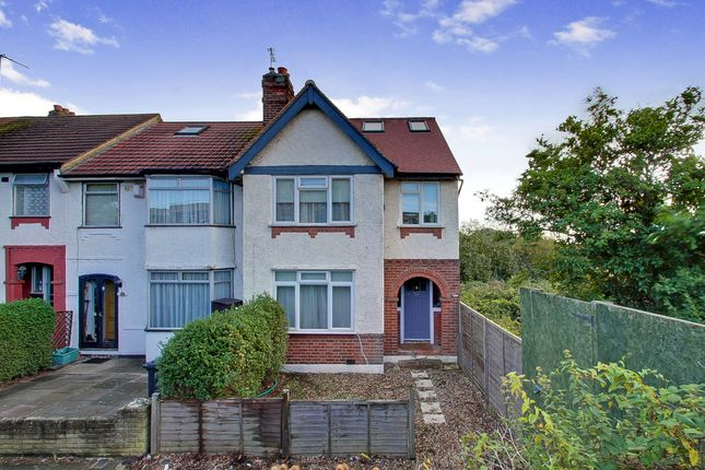 Thumbnail 4 bed end terrace house for sale in Greenford Road, Greenford