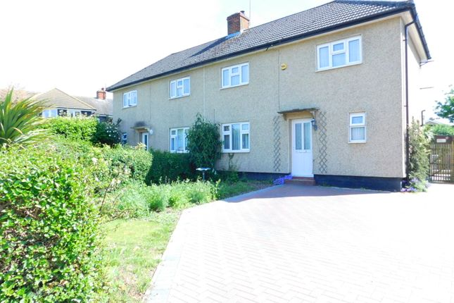 Thumbnail Semi-detached house for sale in Glebe Avenue, Arlesey, Beds