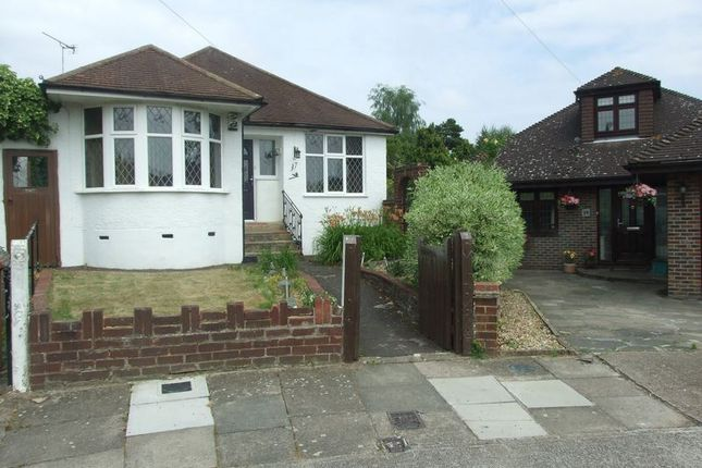 Thumbnail Detached bungalow to rent in Albany Close, Bexley
