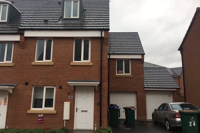 Thumbnail Terraced house to rent in Middlesex Road, Stoke Village