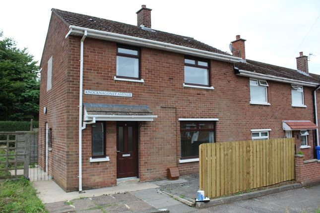 Thumbnail Terraced house to rent in Knocknagoney Avenue, Belfast