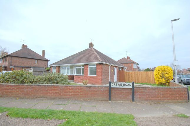 Thumbnail Semi-detached bungalow for sale in Crewe Road, Crewe
