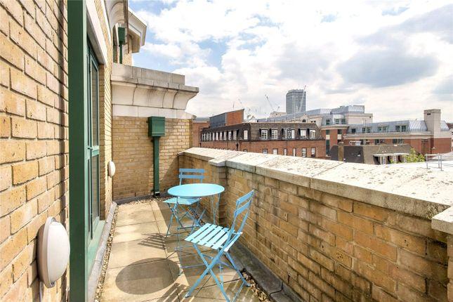 Balcony of Octavia House, Medway Street, Westminster, London SW1P