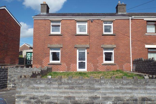 Thumbnail Semi-detached house for sale in Parcy Mynach, Pontyberem, Llanelli