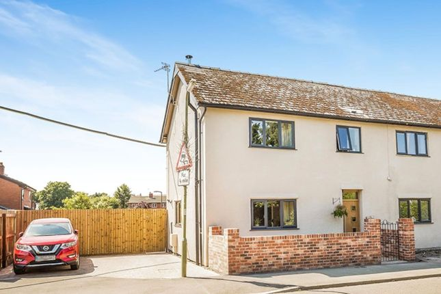 Thumbnail Semi-detached house for sale in Ellesmere Road, St. Martins, Oswestry