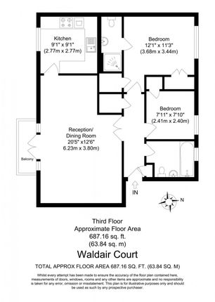 2 bed flat for sale in waldair court barge house road e16 zoopla rh zoopla co uk