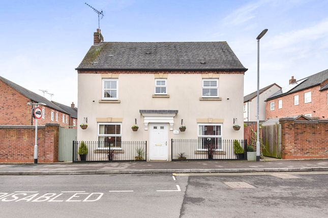 Thumbnail Detached house for sale in Drovers Close, Uttoxeter