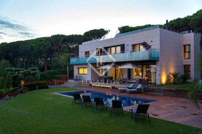 Thumbnail Villa for sale in Spain, Barcelona North Coast (Maresme), Sant Andreu De Llavaneres, Lfs7051