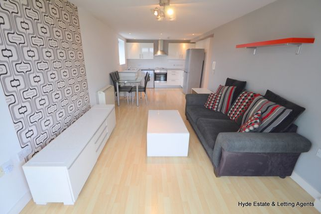 Thumbnail Flat to rent in Lakeside Rise, Blackley, Manchester