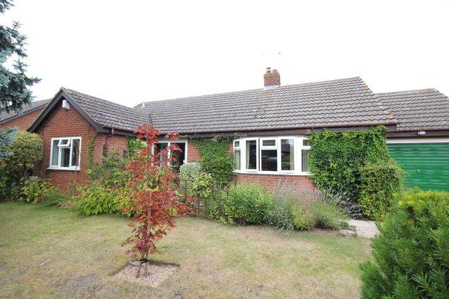 Thumbnail Detached bungalow for sale in Cuttons Corner, Hemblington, Norwich