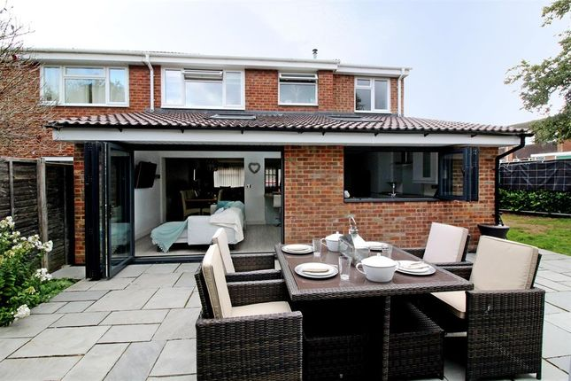 Thumbnail Semi-detached house for sale in Grange Close, Leighton Buzzard
