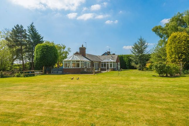 Thumbnail Detached bungalow for sale in Blythe Lane, Lathom, Ormskirk