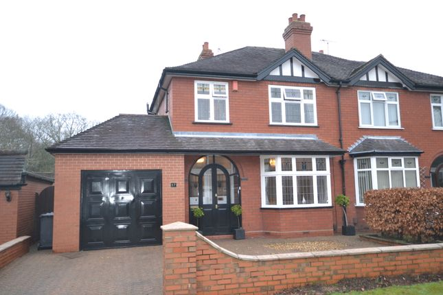 Thumbnail Semi-detached house for sale in Friars Walk, Newcastle-Under-Lyme