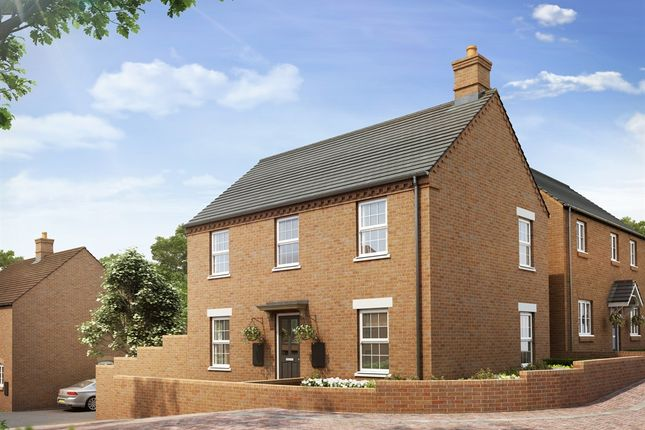 """Thumbnail Semi-detached house for sale in """"The Radstone Corner Bay"""" at Heathencote, Towcester"""