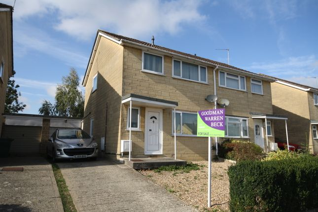 Thumbnail Semi-detached house to rent in Kent Close, Chippenham