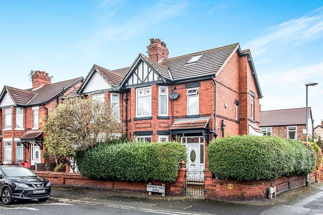 Thumbnail Semi-detached house for sale in Burnage Hall Road, Burnage, Manchester
