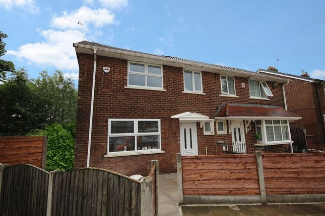 Thumbnail Semi-detached house for sale in Grosvenor Close, Walkden, Manchester