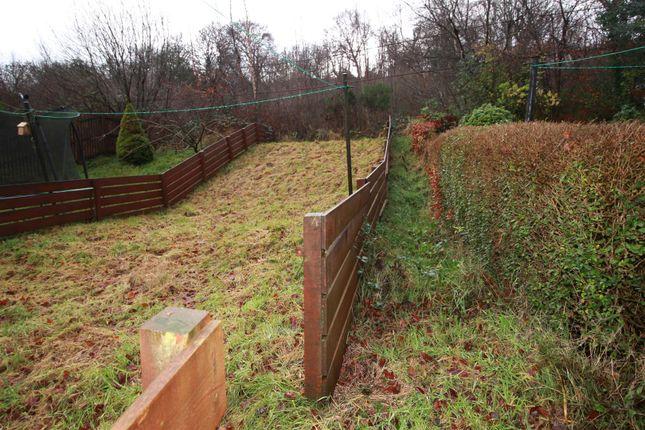 Rear Garden of Hillside Drive, Port Glasgow PA14