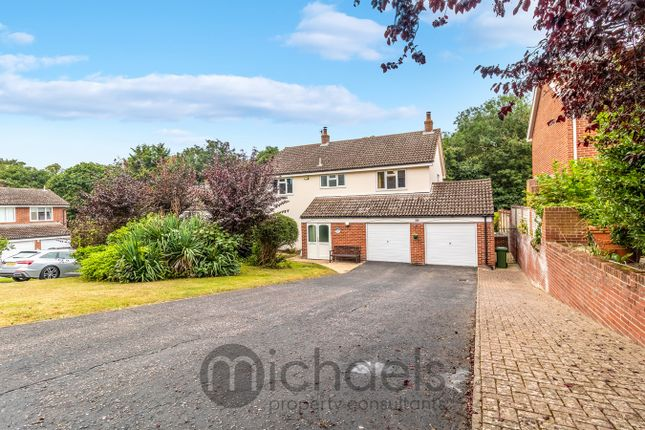 Thumbnail Detached house for sale in Hurnard Drive, Lexden, Colchester