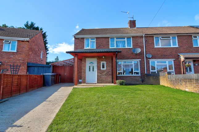 Thumbnail 3 bed end terrace house for sale in Gainsborough Road, Reading