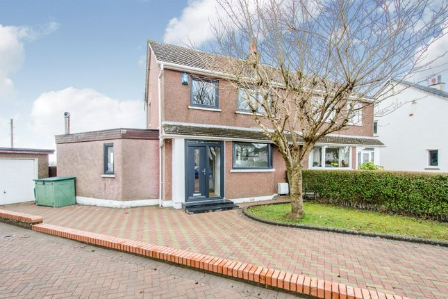 Thumbnail Semi-detached house for sale in Alexander Avenue, Eaglesham, Glasgow