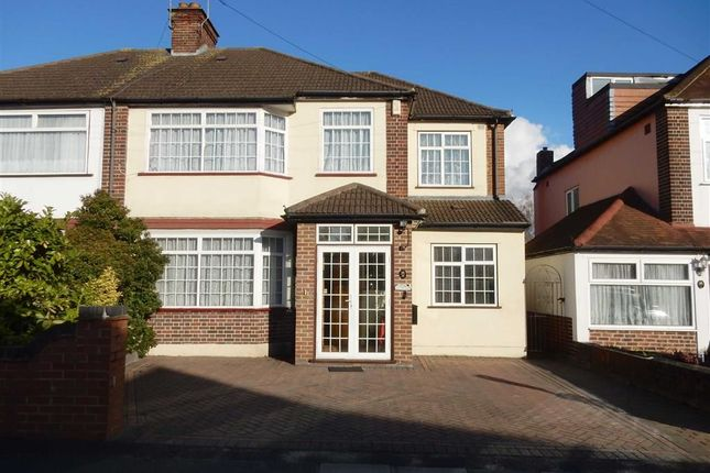 Thumbnail Semi-detached house for sale in Dorset Avenue, Southall, Middlesex