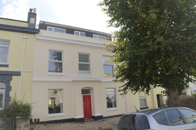 Thumbnail Flat to rent in Haddington Road, Stoke, Plymouth