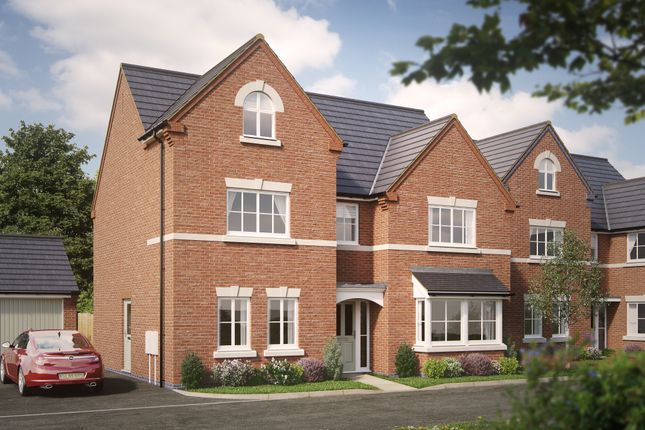 Thumbnail Detached house for sale in The Belvedere, Off Magdalene Drive, Mickleover, Derby
