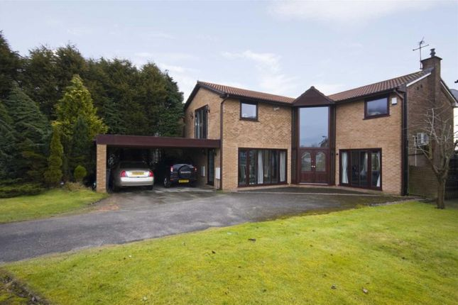 Thumbnail Detached house for sale in Meadow Croft, Whitefield, Manchester