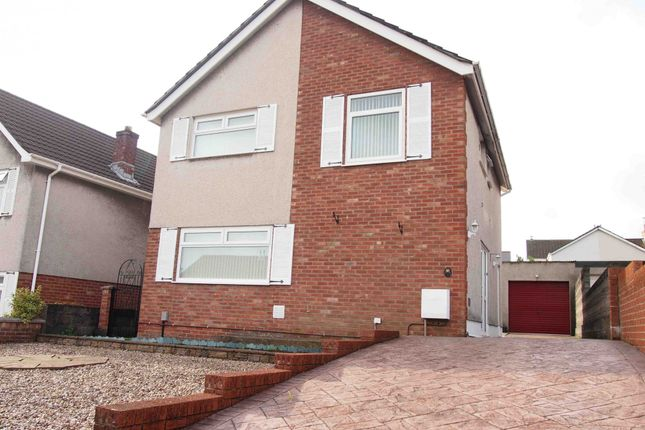 Thumbnail Detached house to rent in Pant Glas, Swansea