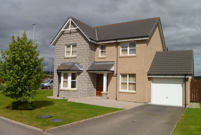 Thumbnail Detached house to rent in Balfluig View, Alford, Aberdeenshire