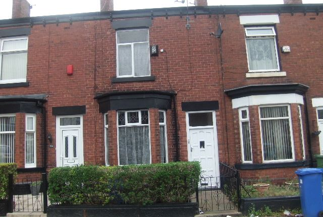 Thumbnail Town house for sale in Higher Henry Street, Hyde