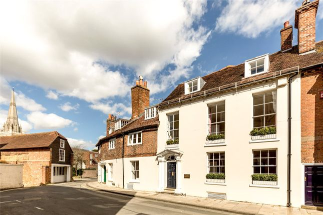 Thumbnail Terraced house for sale in West Pallant, Chichester, West Sussex
