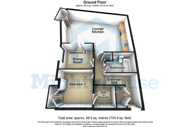 River View Apartments, Lancaster - 3D