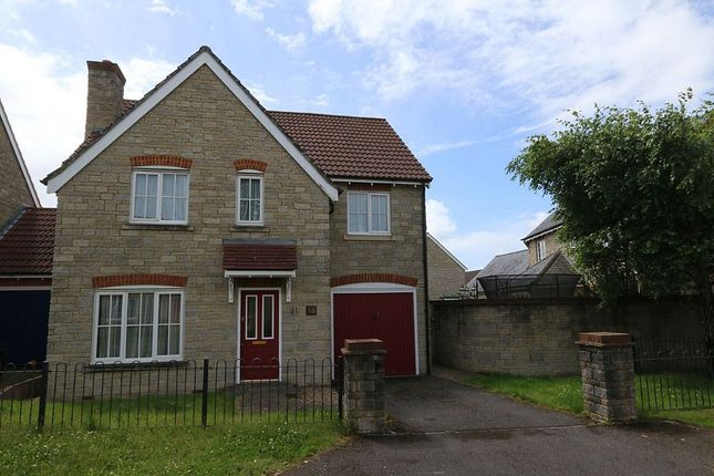 Thumbnail Detached house for sale in Tower Close, Cheddar, Somerset